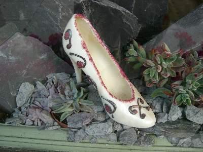 チョコレートの靴