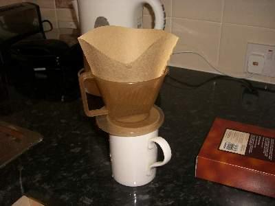 でかすぎるコーヒーフィルター