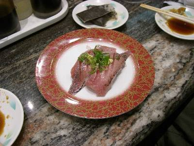 今回食べたお寿司