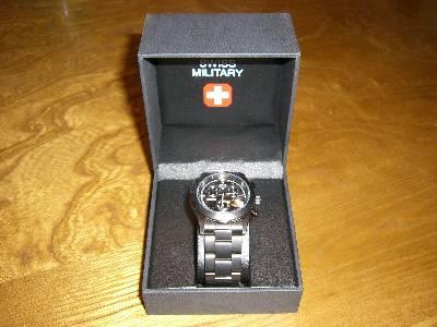 姉に買ってやった時計
