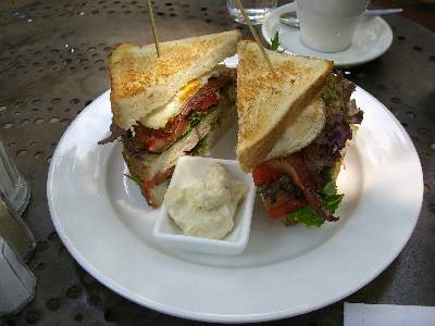 Bon Ton Club Sandwich