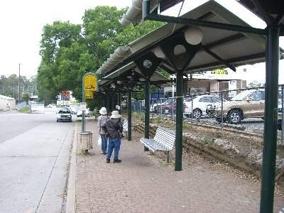 コアラパークへ行くバスが出ているバス乗場