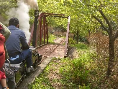 鉄橋 (復路で撮影)