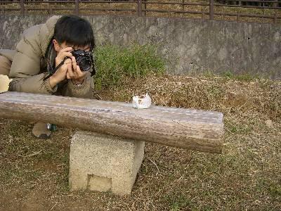 CONTAX 139 でパンの写真を撮る奥村