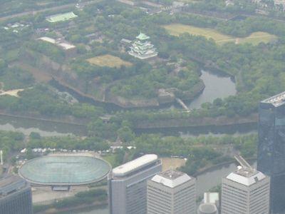 大阪城と OBP
