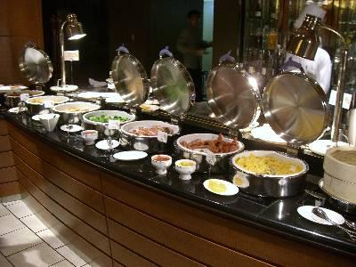 都ホテル朝食バフェの品揃え