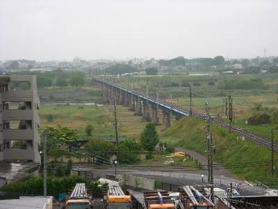 平成ホテルからの風景