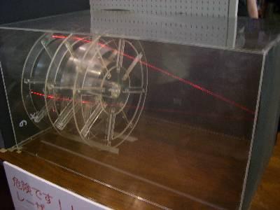 X 線レンズのデモ装置