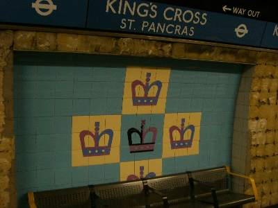 KING'S CROSS のタイル
