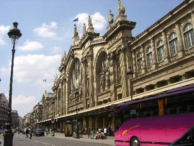 パリ北駅 Gare du Nort のファサード