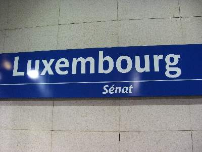 リュクサンブール Luxembourg 駅