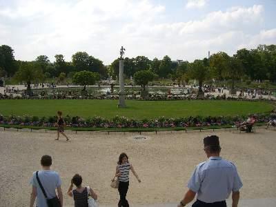 リュクサンブール公園中央の広場