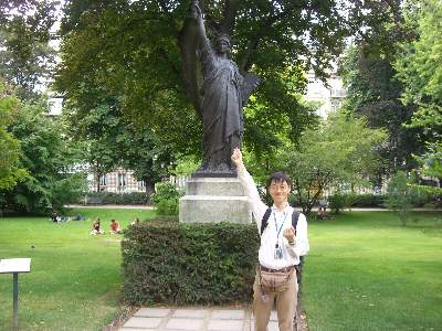 自由の女神原型像