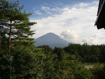 富士眺望の湯ゆらりから見た富士山