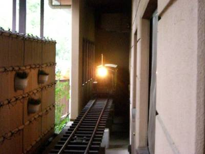 食事運搬 SL 列車