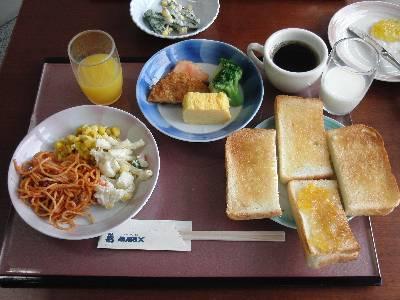 奥村の朝食
