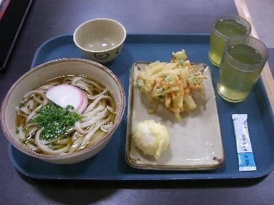 中井麺宿での朝食