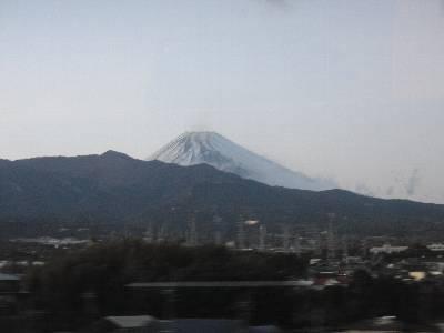 富士山 (三島駅付近から)