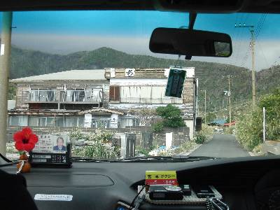 廃墟化が進む建物