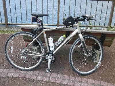 和久さんの自転車 (TREK)