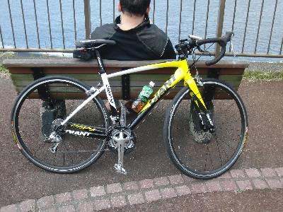 福西の自転車 (GIANT)