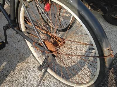 サビサビ自転車