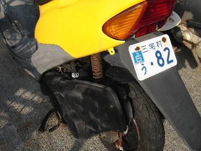 サビサビ原付オートバイ