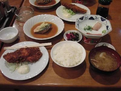 ホテル海楽夕食