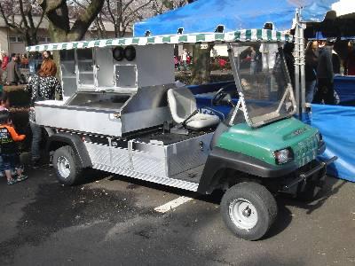ゴルフカート改造車