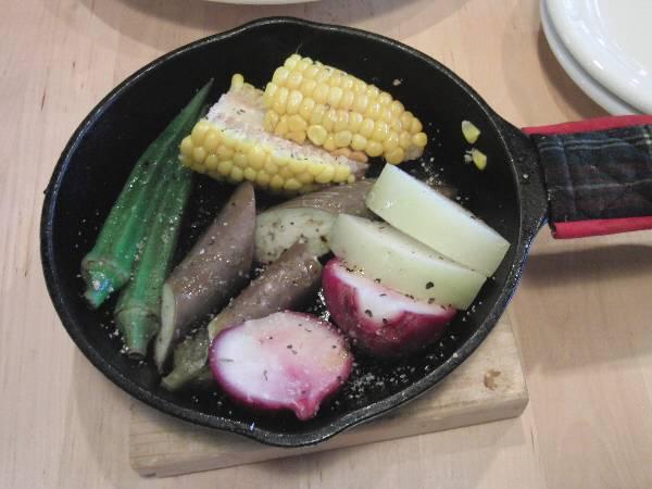 有機野菜のオーブン焼き盛り合わせ