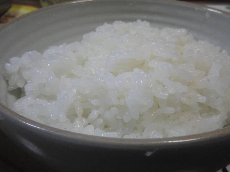 大山千枚田米で炊いたご飯