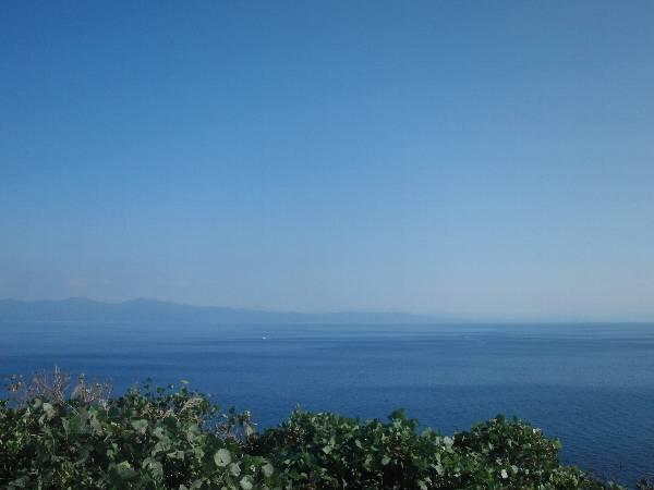 展望台から本州側の景色
