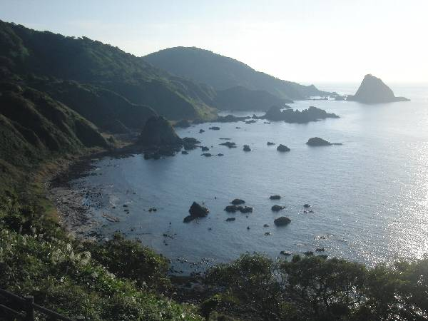 日本海側の景色