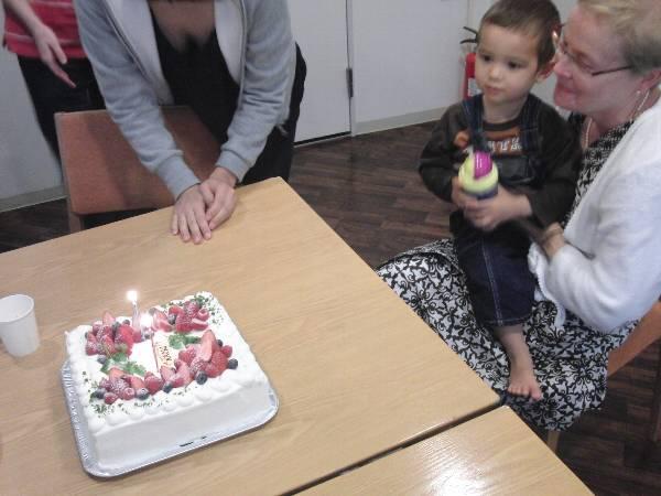 Birthday cake 誕生日ケーキ