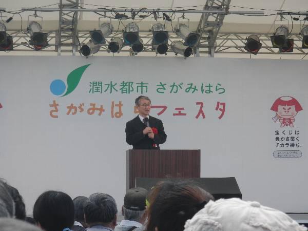 JAXA の川口淳一郎教授