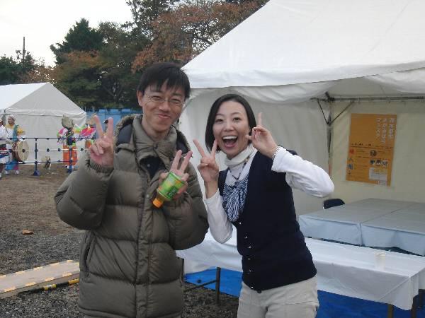 三条恵美さんと記念写真