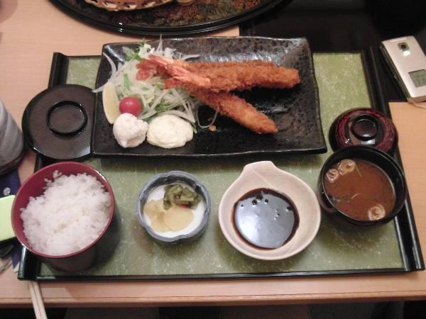 大海老フライ定食 1,575 円