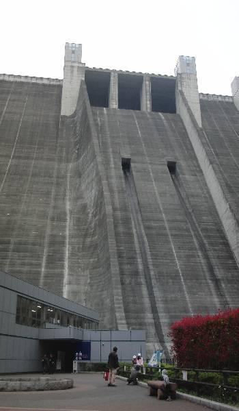 宮ヶ瀬ダム堰堤