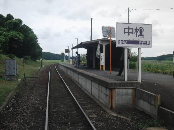 一見秘境駅の中根駅