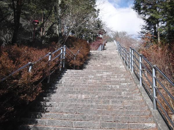 五重塔へ向かう階段