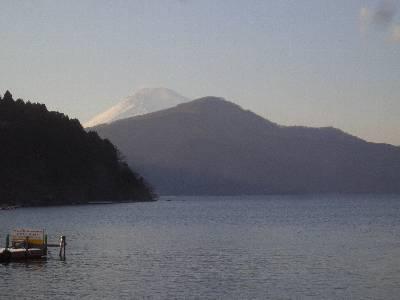 芦ノ湖からの富士山