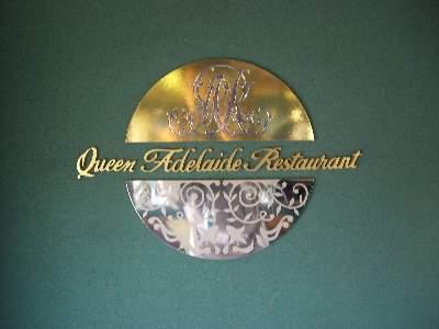 Queen Adelaide Restaurant ロゴ