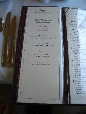 Red Hills Lunch メニュー