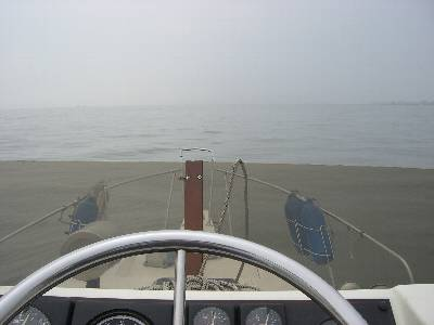 湖のような東京湾