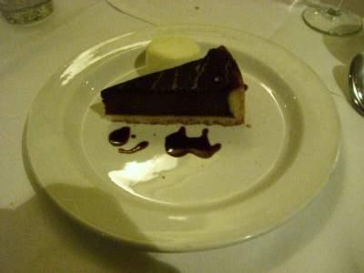 チョコレート・ブルレー・タルト
