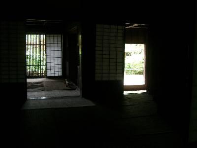旧荻野家住宅内部