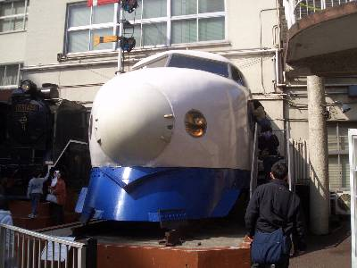 新幹線車両と D-51