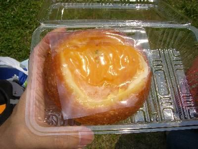マンゴーの菓子パン。激うま