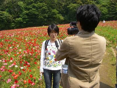 NHK のインタビュー