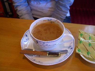 シナモン・コーヒー (商品名忘れました)